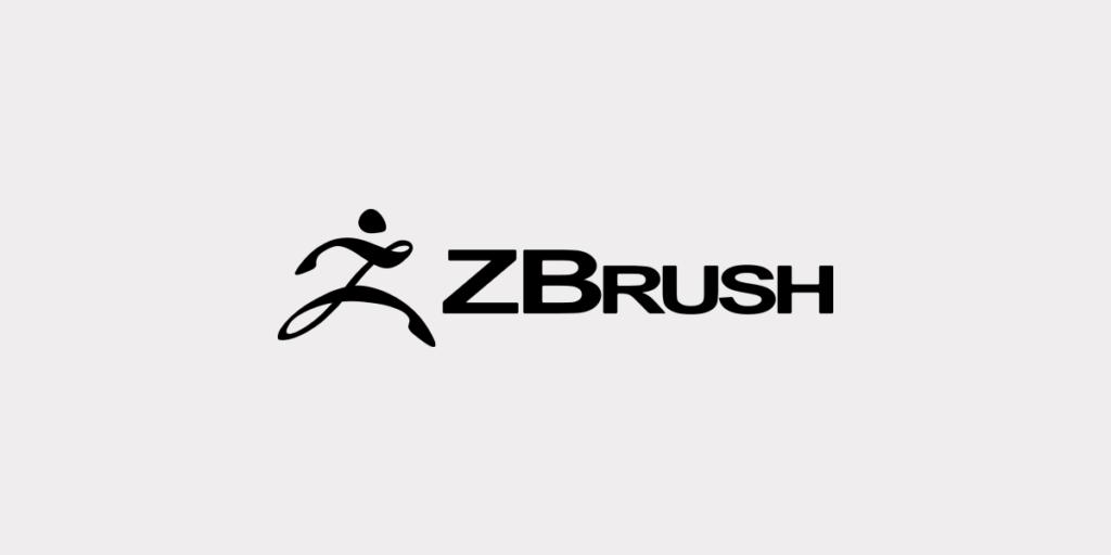 Logo Zbrush pour illustrer l'article sur zbrush, son histoire et ses caractéristiques comme outil de sculpture 3D
