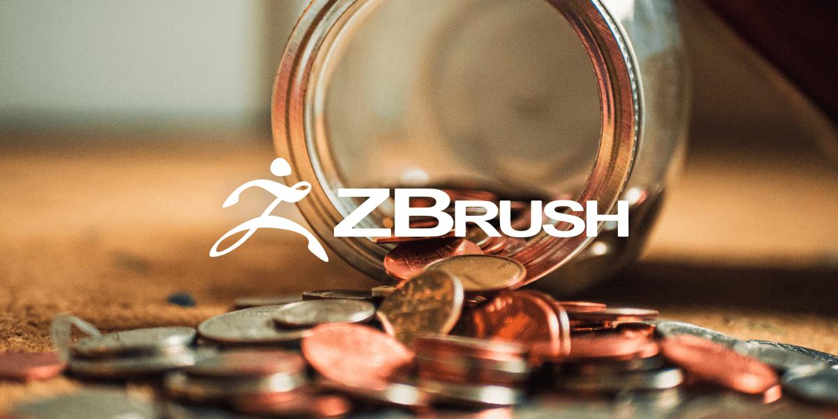Bannière pour l'article sur les prix de zbrush, zbrush core et zbrush core mini